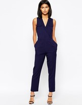 Asos Wrap Jumpsuit with Pocket Detail
