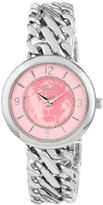 Versus By Versace Women's SGF030013 Acapulco Stainless Steel Watch with Chain Bracelet