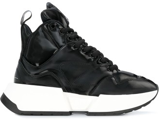 MM6 MAISON MARGIELA Flare high-top sneakers
