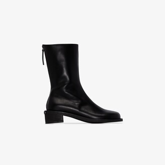 Osoi black Toboo 40 leather ankle boots