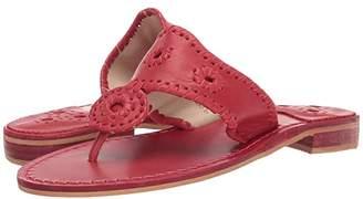 Jack Rogers Natural Jacks (Cognac Multi) Women's Sandals