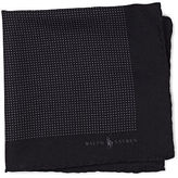 Polo Ralph Lauren Dotted Wool-Silk Pocket Square