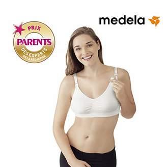 Medela Women's Maternity & Nursing Bra, White, X-Large