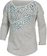 Nike Girls' Toddler Modern Long-Sleeve T-Shirt