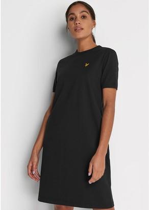 Lyle & Scott T-shirt Dress - Black