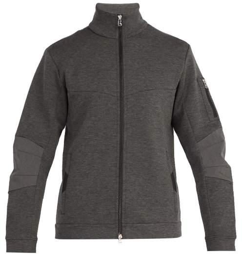 Bogner Eric Zip Through Neoprene Jacket - Mens - Grey
