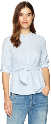 Vero Moda Women's juljane Long Sleeve tie Blouse