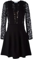 Blumarine lace panel dress