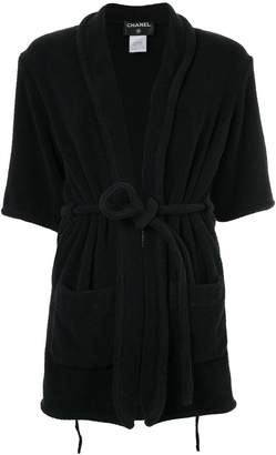 Chanel Pre Owned Pre-Owned Long Sleeve Bathrobes