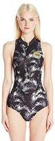Billabong Women's Surf Capsule Neoprene Sleeveless Wetsuit One Piece Swimsuit