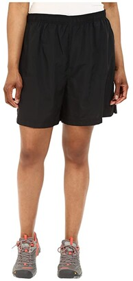 Columbia Plus Size Sandy River Short (Black) Women's Shorts