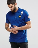 ONLY & SONS Polo with Badge Detailing