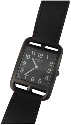 Hermes Cape Cod Black Steel Watches