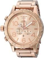 Nixon Men's A083897 51-30 Chrono Watch