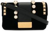Giuseppe Zanotti Design stud embellished shoulder bag