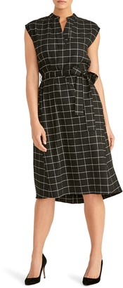 Rachel Roy Collection Nanette Tie Waist Dress