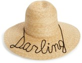 Eugenia Kim Women's Darling Straw Hat - Beige