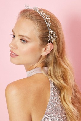 Coast Pearl And Wire Metal Headband