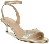 Via Spiga Louise Metallic Ankle Strap Sandal