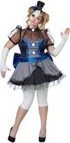 California Costumes Twisted Creepy Baby Doll Adult Plus Size Halloween Costume