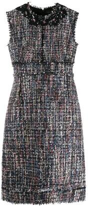 Giambattista Valli sleeveless fitted mini dress