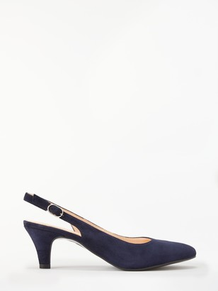 John Lewis & Partners Grace Slingback Court Shoes