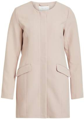 Dorothy Perkins Womens **Vila Pink Biker Jacket, Pink