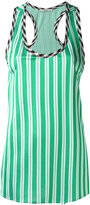 Etro striped racer back vest - women - Viscose/Acetate - 40