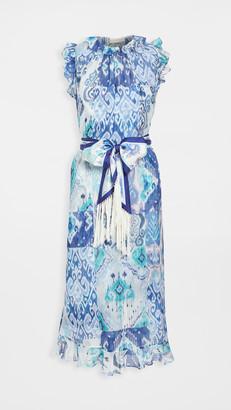 Zimmermann Glassy Ruffle Shoulder Dress