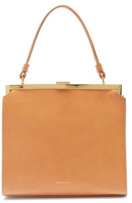 Mansur Gavriel Elegant Leather Handbag - Womens - Tan