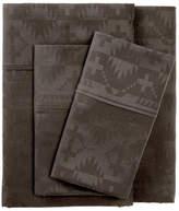 Pendleton Spider Rock Jacquard Standard Pillowcase Set - Gray