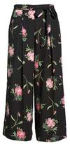 Ten Sixty Sherman Floral Wide Leg Crop Pants