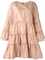 Chloé tiered parachute dress - women - Silk - 38