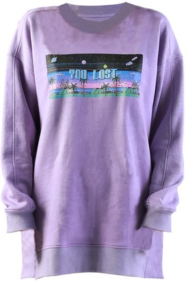 Quillattire Lilac Bamboo Sweatshirt