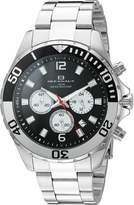 Oceanaut Men's OC2524 Sevilla Analog Display Quartz Silver Watch