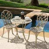 Asstd National Brand Nassau 3-pc. Outdoor Cast Aluminum Bistro Set