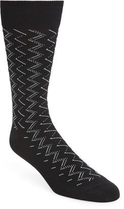 Nordstrom Zigzag Socks