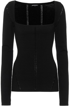 Ann Demeulemeester Merino wool-blend sweater