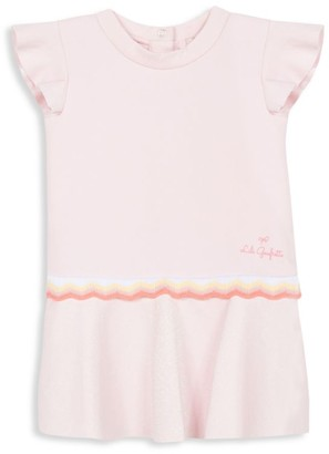 Lili Gaufrette Baby Girl's Ruffle Textured Dress