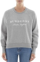 Burberry Women's Grey Cotton Sweatshirt.