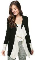 Splendid 100% Cashmere Long Sleeve Cardigan