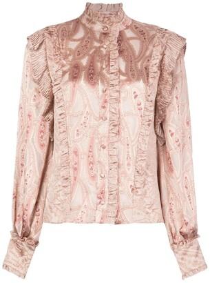 Alexis Eline paisley blouse