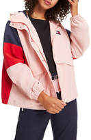 Tommy Jeans Colour-Blocked Relaxed Fit Windbreaker Jacket