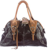 Chloé Patent Leather Paddington Tote