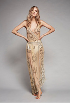 Intimately Womens SKY FALL EMBELLISHED MAXI