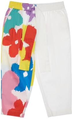 Stella McCartney Kids Flower Print Organic Cotton Pants