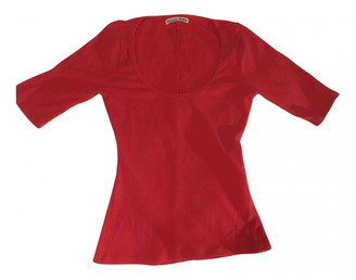 Reformation Red Viscose Tops