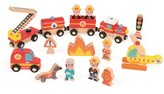 Janod Story Express Firefighter Play Set