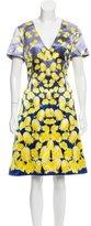 Prabal Gurung Silk-Blend A-Line Dress