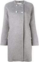 Blugirl embellished double breasted coat
